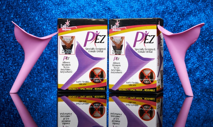 2-Pack of P EZ Women's Travel Urinals: 2-Pack of P EZ Women's Travel Urinals