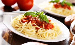 La Piazza Italian Restaurant: Italian Food and Pizza for Two or Four at La Piazza Italian Restaurant (Up to 48% Off)