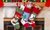 3-Pack Assorted Christmas Stockings: 3-Pack Assorted Christmas Stockings