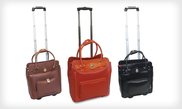 Adrienne Vittadini Rolling Laptop Bags: $79 for an Adrienne Vittadini Rolling Laptop Bag ($360 List Price). 3 Colors Available. Free Shipping and Free Returns.