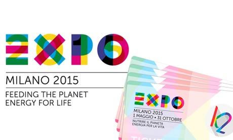Dos entradas para la Expo de Milán 2015 con fecha abierta por 49 €
