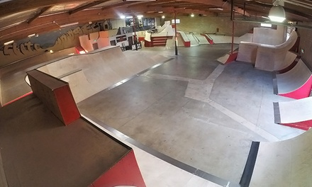 Three-Hour Skateboarding or Rollerblading Session for Two, Four, or Six at The SkateHouse (Up to 55% Off)