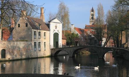 Près de Bruges : chambre Double ou Triple avec petit-déjeuner et bière