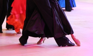 Ballroom Center: One or Four 45-Minute Private Dance Lessons plus Group Classes at Ballroom Center (Up to 62% Off)