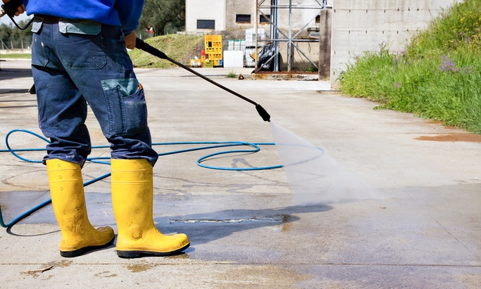Executive Landscape Management - Baltimore: Pressure Washing and Landscaping from Executive Landscape Management (Up to 66% Off). Four Options Available.