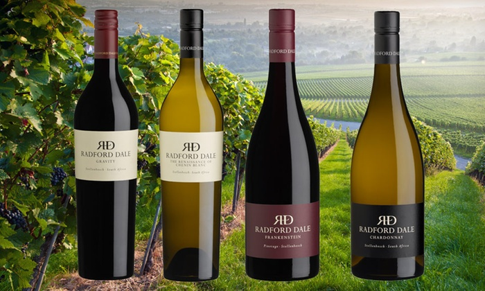 Radford Dale Wine: $54.99 for Four Bottles of Radford Dale Wine ($135.75 List Price). Shipping Included.
