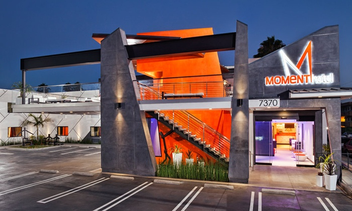 The Moment Hotel - Los Angeles: Stay at The Moment Hotel in Los Angeles. Dates into July.