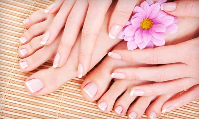 Addicted To Nails - Ranchos de Chandler: One or Three Mani-Pedis at Addicted to Nails in Chandler (Up to 62% Off)