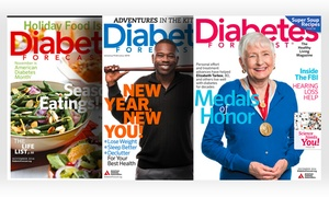 1-Year, 6-Issue Subscription to Diabetes Forecast