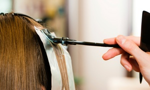 Majesty Hair and Beauty Retreat: Color, Highlights, and Blow-Dry from Majesty Hair and Beauty Retreat (60% Off)
