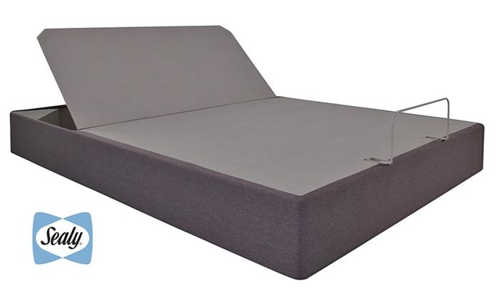 sealy reflexion up mattress base groupon goods. Black Bedroom Furniture Sets. Home Design Ideas