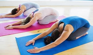 Fitness Fusions: Hot or Unheated Yoga or Pilates: Six Classes of Choice at Fitness Fusions (77% Off)