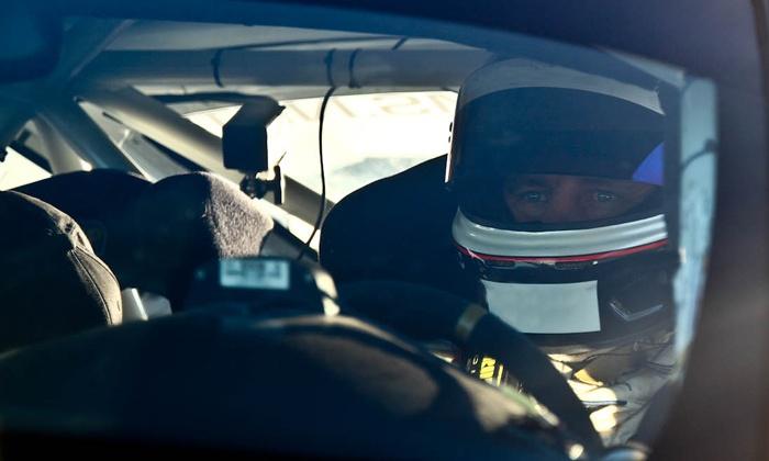 Chuckwalla Valley Raceway - Desert Center: Mustang Driving Experience or a Half- or Full-Day Racing-School Course at Chuckwalla Valley Raceway (50% Off)