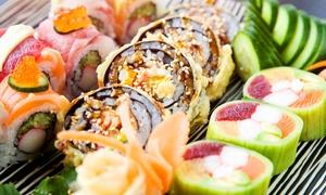 Sushi 14: Wertgutschein über 30 oder 60 € anrechenbar auf Sushi für Zwei oder Vier im Restaurant Sushi 14 in Mitte ab 15 €