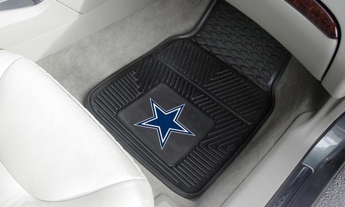 NFL Heavy-Duty Vinyl Car Mats ...