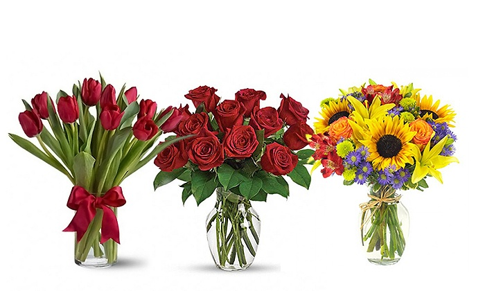Flower bouquets southport blooms groupon