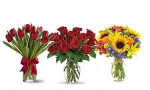 Flowers Delivery 4 U: Up to £50 to Spend at Flowers Delivery 4 U (50% Off)