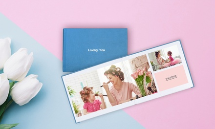 From $16.95 for Up to Three Personalised Lay-Flat Deluxe Hardcover Photo Books w/ Hot Stamping (Don't Pay Up To $533.85)