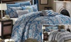 12-Piece Vienna or Sutton Place Reversible Comforter Set: 12-Piece Vienna or Sutton Place Reversible Comforter-and-Sheet Set for $79.99 or $89.99