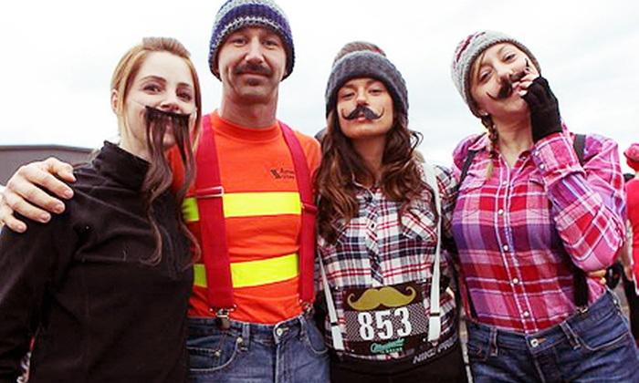 Mustache Dache Las Vegas - Downtown: Race Registration for One or Two with T-Shirts for the Mustache Dache on November 30 (Up to 55% Off)