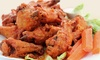 Surf Dog's Sports Grill - Huntington Beach: Pizza, Wings, or Dinner at Surf Dog's Sports Grill (Up to 40% Off). Three Options Available.