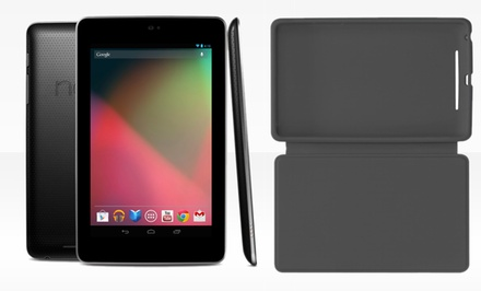 Google Nexus 7 16GB or 32GB WiFi Tablet by ASUS with Travel Cover from $118.99–$139.99 (Refurbished). Free Returns.