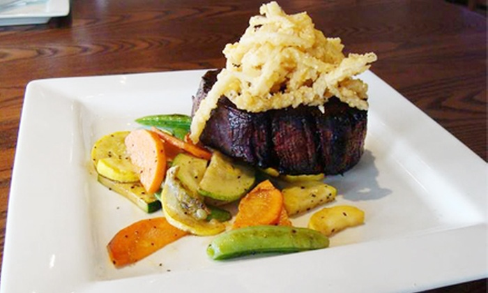 Chops - Northeast Virginia Beach: $20 for $40 Worth of Steaks and Seafood for Dinner at Chops