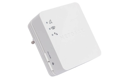 groupon daily deal - Netgear WiFi Range Extender for Mobile (Manufacturer Refurbished). Free Returns.