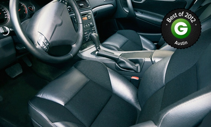 Austin Auto Interiors - Chandler Creek Industrial Park: $79 for Bio-Sanitizing Treatment with Interior Auto Cleaning at Austin Auto Interiors (Up to $198 Value)