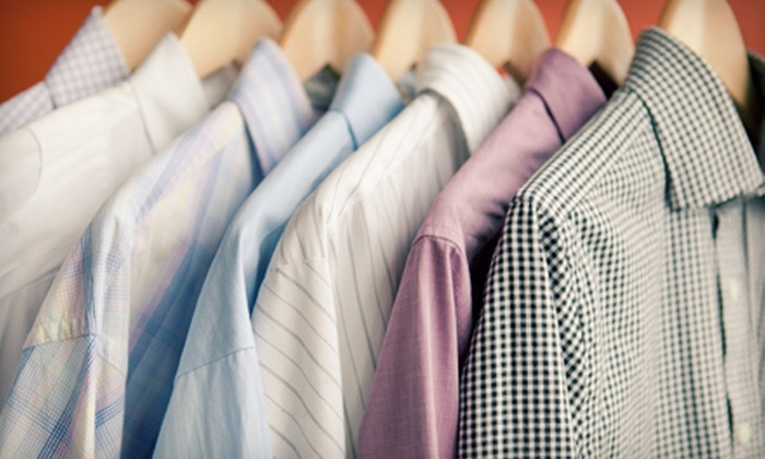 Zoots - Multiple Locations: Eco-Friendly Dry Cleaning at Zoots (Up to 52% Off). Two Options Available.