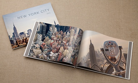 20- or 30-Page Classic or Deluxe Custom Hardcover Photo Book from MyPublisher (Up to 80% Off)