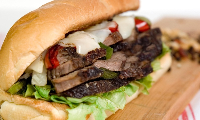 Shakers Lounge - Shakers Lounge: $4 Off Shakers Cheese Steak at Shakers Lounge