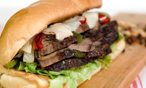 Shakers Lounge: $4 Off Shakers Cheese Steak at Shakers Lounge