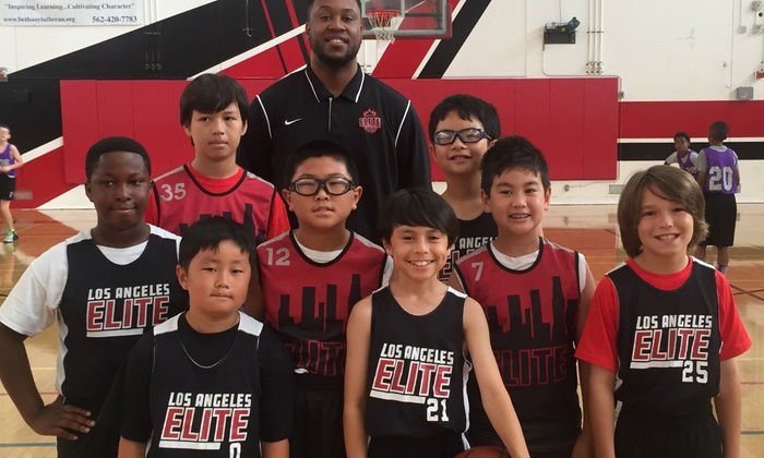 Los Angeles Elite - Multiple Locations: 90-Minute Basketball-Skills Session from Los Angeles Elite (47% Off)