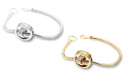 Pulseira Ring of Love com Swarovski Elements por 14,99€