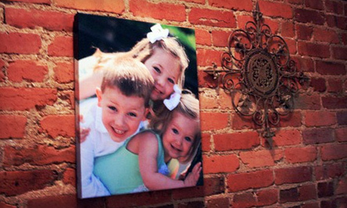 """Pics To Posters: $34 for 16""""x20"""" Canvas Print on ½"""" Stretchers from Pics to Posters ($69 Value)"""