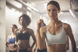 The Fighting Fit: One Month of CrossFit or Kickboxing Classes at The Fighting Fit (Up to 48% Off)