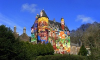 Entry for Two or Family Ticket to Kelburn Castle & Country Centre (50% Off)