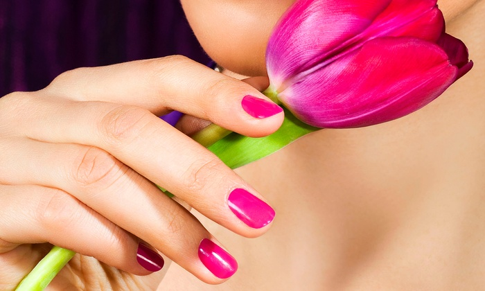 Luxurious Essentials - Southfield Downtown: Manicure, Pedicure, or Both, With a Skin-Smoothing Paraffin Dip at Luxurious Essentials (Up to 54% Off)