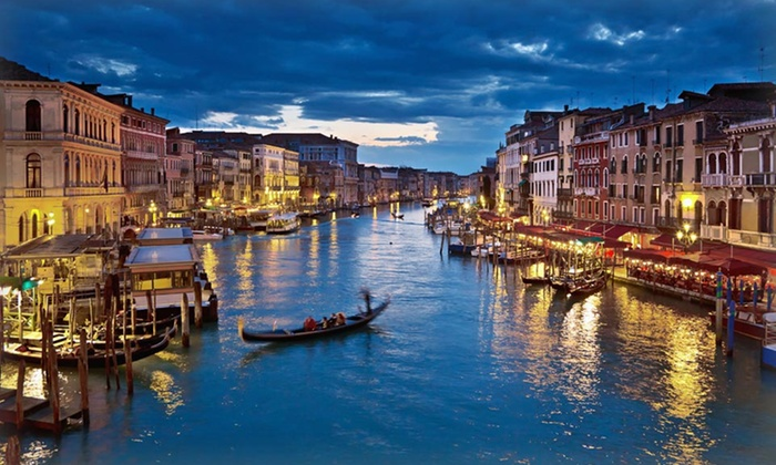 11-Day Italian Vacation with Airfare - Venice, Florence, and Rome: 11-Day Italian Vacation with Airfare, Accommodations, Daily Breakfast, and Train Transportation from Gate 1 Travel