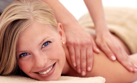 $38.99 for a 70-Minute Massage and 20-Minute Foot Detox at Sam's Spa ($99 Value)