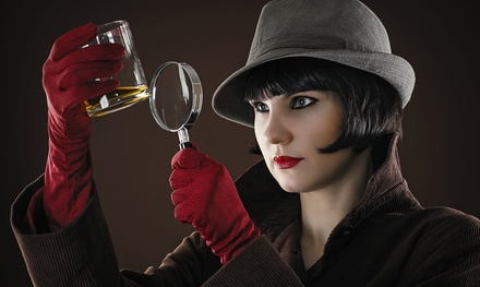 $118 for a Four-Course Murder-Mystery Dinner for Two from The Dinner Detective (Up to $206 Value)