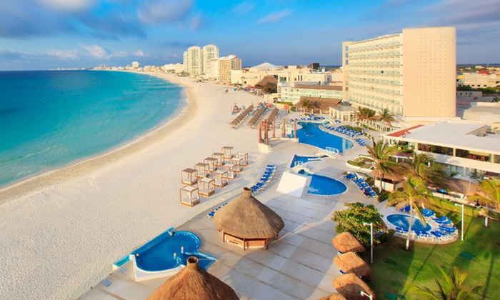 Krystal Cancun - Cancún, Mexico: 3-, 4-, or 5-Night All-Inclusive Stay for Two at Krystal Cancun in Mexico. Starts at $555 Total; Includes Taxes & Fees.