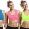 Women's Sheer-Back Sports Bras
