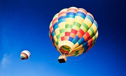 Un vol en montgolfière avec une coupe par personne dès 119,99€ chez European Balloon Corporation