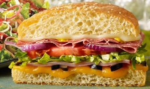 Schlotzsky's Deli: $12 for $20 Worth of Sandwiches, Salads, Pizza, and Drinks at Schlotzsky's Deli