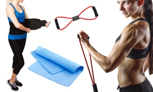 Super Fitness Resistance Band Set (5-Piece) at Super Fitness Resistance Band Set (5-Piece), plus 9.0% Cash Back from Ebates.