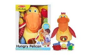 Melissa and Doug Hungry Pelican Soft Baby Educational Toy
