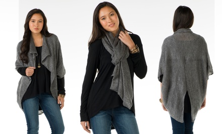 Sociology Three-Way Women's Shrug