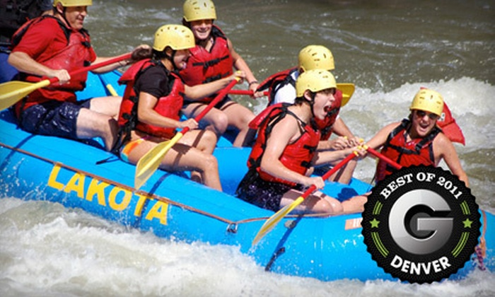 Lakota Guides - Minturn-Red Cliff: Whitewater-Rafting Package for Two or Four from Lakota Guides (Up to 52% Off)